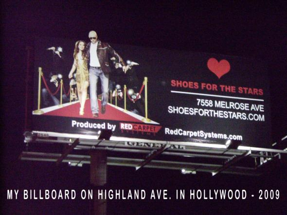 Christina DeRosa Billboard Shoes For The Stars